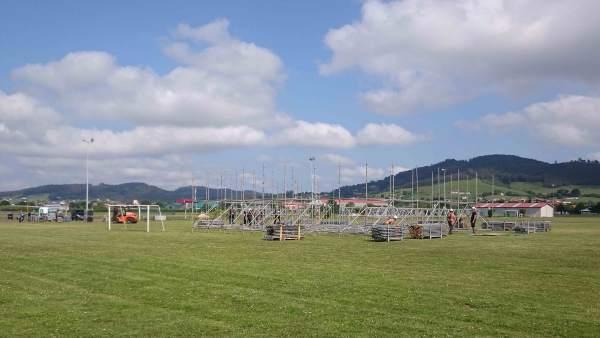 Montaje Festival Baldumac