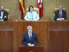 Pleno de investidura de Ángel Garrido como presidente de la Comunidad de Madrid