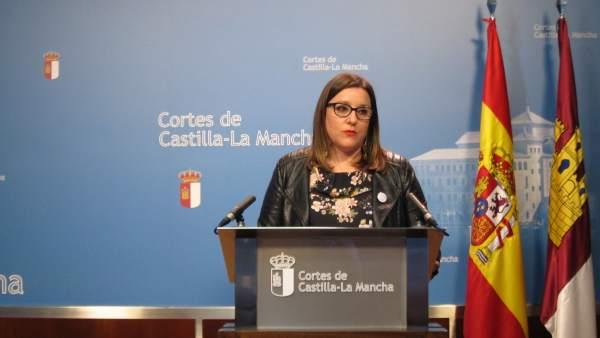 La diputada de Podemos en las Cortes de C-LM María Díaz