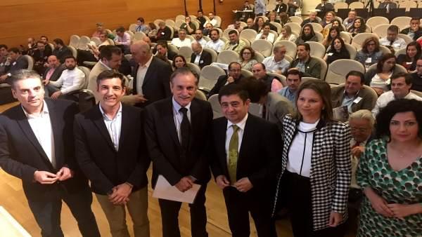 Inauguración de la primera edición de Agroseguridad.