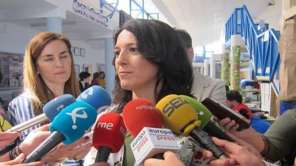 Consejera de Educación de la Junta de Extremadura, Esther Gutiérrez