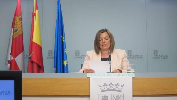 Marcos tras el Consejo de Gobierno. Valladolid 17/05/2018