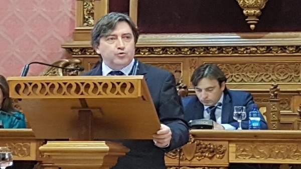El portavoz del PP en el Consell, Mauricio Rovira
