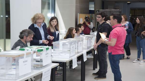 VOTACIONES EN LA UJI