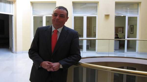El presidente de la CEV, Salvador Navarro, en una imagen de archivo
