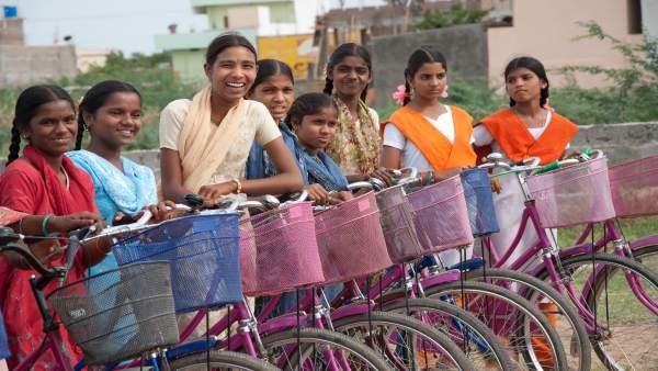 Niñas de la India