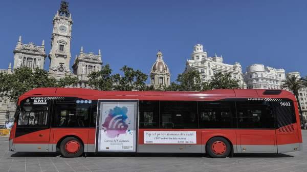 Uno de los buses que harán la ruta