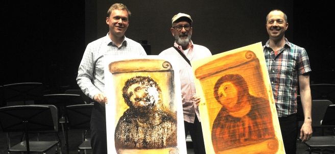La ópera del Ecce Homo de Borja llega a Arizona antes de su estreno mundial.