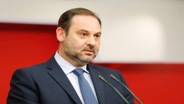 El secretario de Organización, José Luis Ábalos, en imagen de archivo