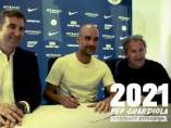 Guardiola firma su renovación con el Manchester City.
