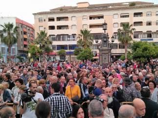 Concentración contra el narcotráfico en Algeciras