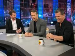 Ryan Reynolds y Josh Brolin en 'El Hormiguero'