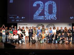 Premios 20Blogs, una noche de magia, ciencia y mujeres