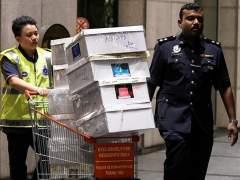 Operación policial en la casa del ex primer ministro malayo