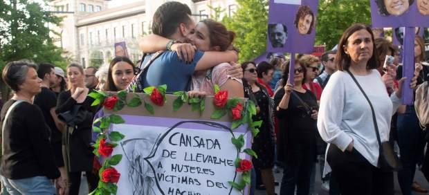 Manifestación por el incumplimiento del Pacto de Estado contra la Violencia de Género.