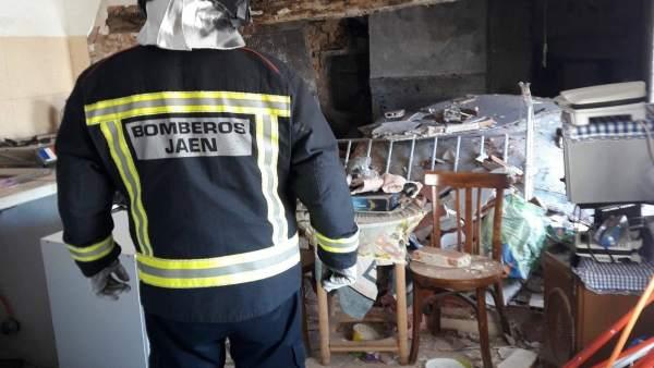 Bombero de Jaén