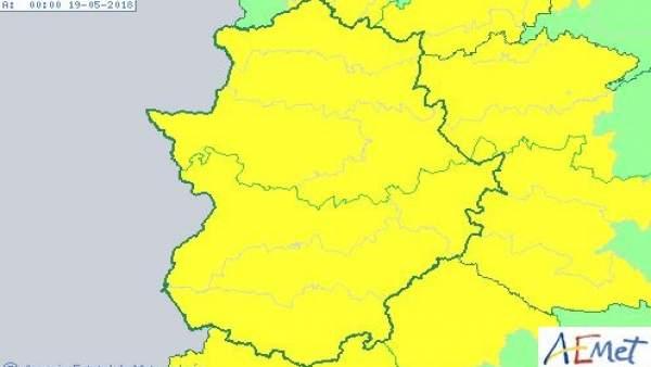 Alertas Extremadura 18 de mayo