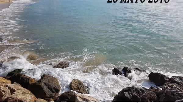 Limpieza fondo marino