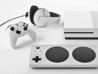 Mando de Xbox para personas con discapacidades