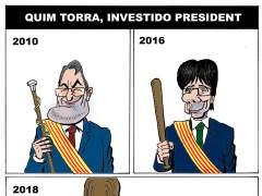 Quim Torra, investido president