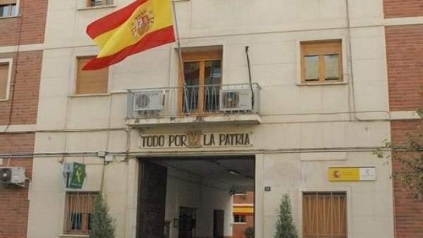 Cuartel de la guardia civil en España acuartelamiento
