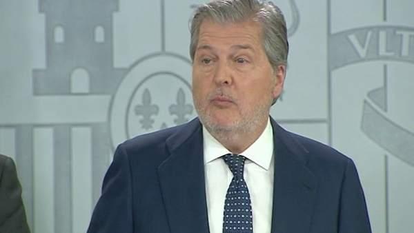 Méndez de Vigo y de la Serna en el Consejo de Ministros
