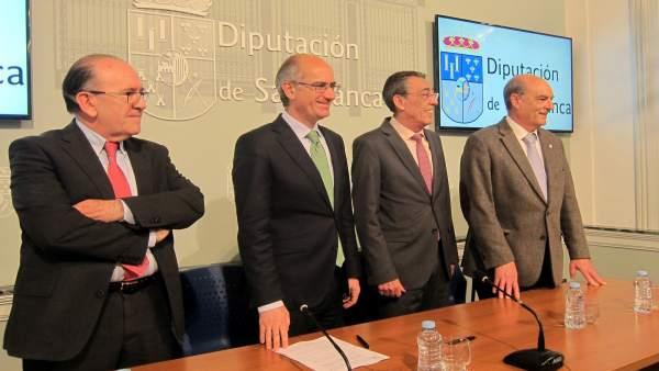 Presentación del nuevo servicio que la Diputación para gestión de escombros.18-5