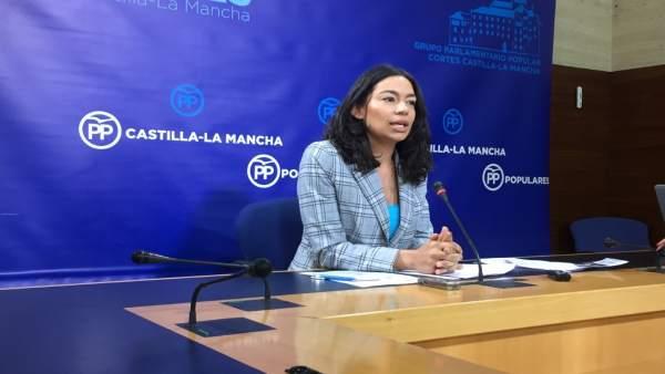 Diputada del PP, Claudia Alonso