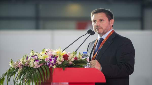 El presidente del Puerto de Tarragona, Josep Andreu