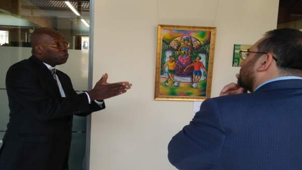 Inaugurada la exposición 'Haití en Granada'