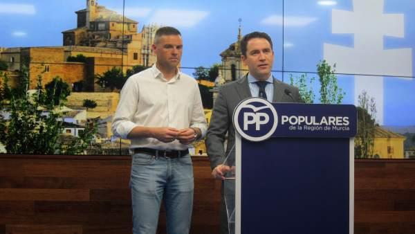 Teodoro García y José Francisco García (PP)