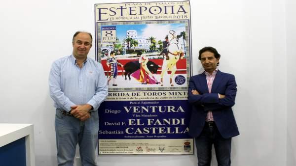 Cartel taurino Feria de Estepona
