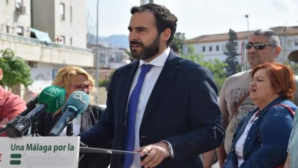 Daniel Pérez, portavoz municipal de PSOE
