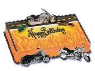 Las tartas de Harley Davidson