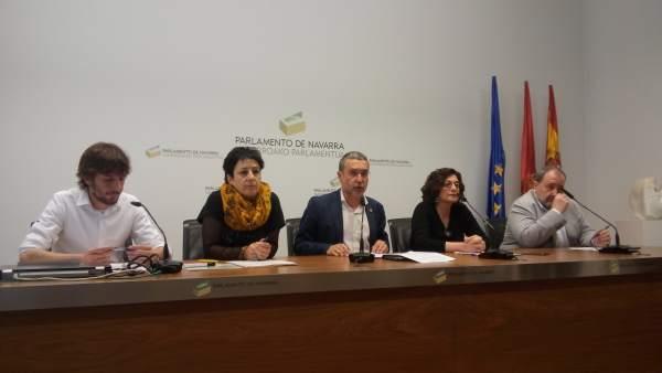 Miguel Laparra presenta los cambios en la Cartera de Servicios Sociales
