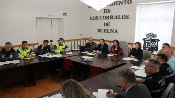 Rdo. Nota De Prensa (Junta Local Seguridad Corrales De Buelna)