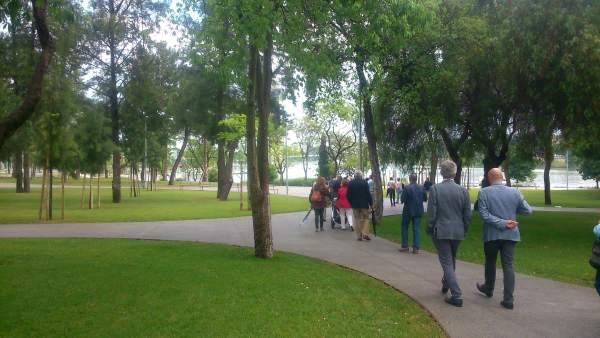 Sevilla estrena el nuevo parque Magallanes