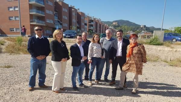 Visita PSOE Algezares
