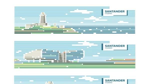 La nueva imagen de marca de Santander