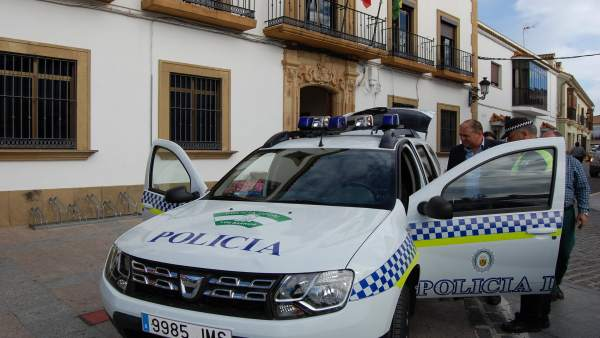 Coche de la Policía Local de Los Barrios