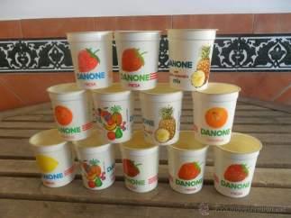 Yogur Danone de naranja
