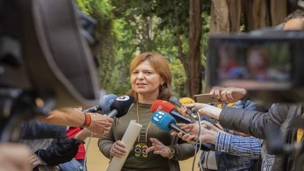 """Bonig diu que li """"dol"""" l'entrada a la presó de Milagrosa Martínez però que les sentències es """"compleixen"""""""