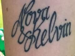 Cambia el nombre de su hijo tras un error en un tatuaje