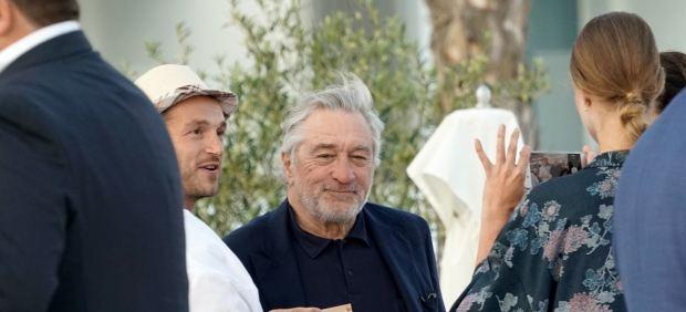 De Niro expresa en Barcelona su deseo de dirigir la secuela de 'El buen pastor'