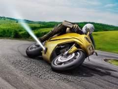 La moto antiderrapes