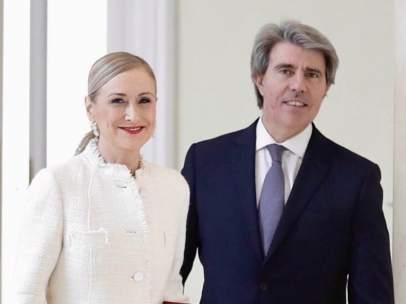 Cristina Cifuentes y Ángel Garrido.