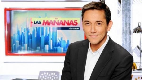 'Las mañanas de Cuatro', con Javier Ruiz.