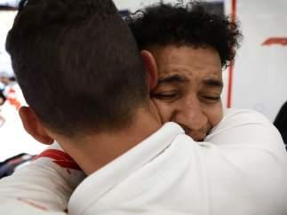 El ciego que rodó con un F1 en el GP de España