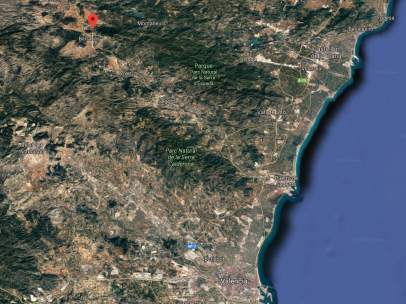 Localización de Barracas (Castellón)