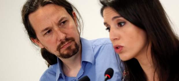 Pablo Iglesias e Irene Montero ponen sus cargos a disposición de Podemos tras la polémica de su ...